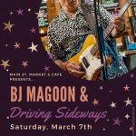 B J Magoon & Driving Sideways